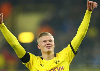 Five goals in 57 minutes for Haaland at Borussia Dortmund