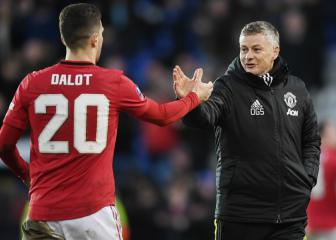Dalot reflects on 'tough journey' at Man Utd