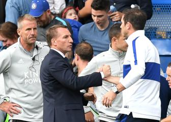 Would Rodgers have been a better choice for Chelsea than Lampard?
