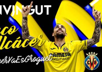 Paco Alcácer completes club-record Villarreal transfer