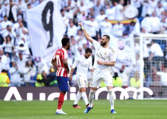 Benzema marks the difference in Madrid derby