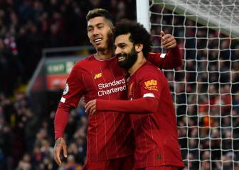 Salah brace ends second half romp
