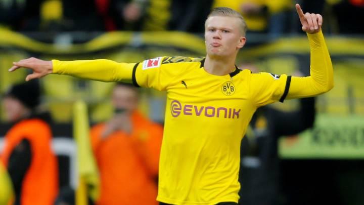 Erling Haaland Goals Keep On Coming At Borussia Dortmund As Com