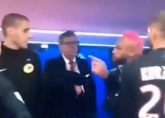 PSG's Neymar could face sanctions after confronting ref