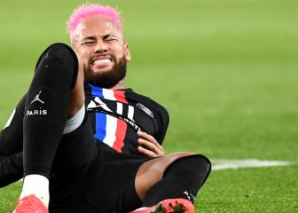 Neymar ruled out of Nantes-PSG game with rib injury