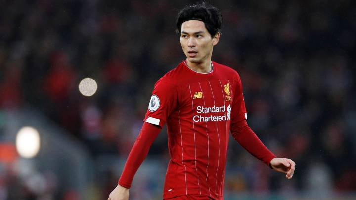 Minamino included in Liverpool's Champions League squad