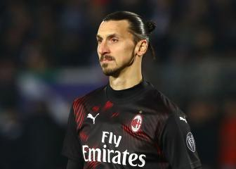 Ibrahimovic could be available for Milan against Inter, says Pioli