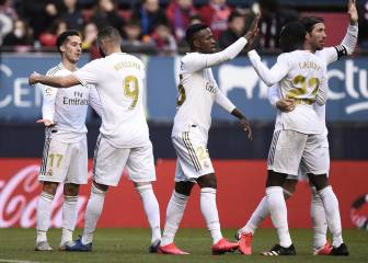 Madrid late show adds gloss to hard-fought Osasuna win
