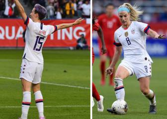 Rapinoe, Ertz nominated for BBC women's player of the year