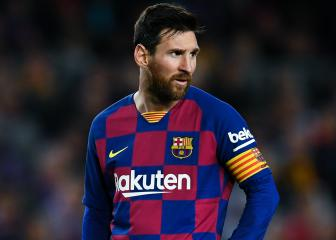 Messi is comfortable at Barcelona, says Lionel Scaloni