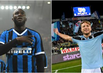 Ciro Immobile and Romelu Lukaku to shoot it out