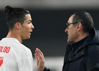 Sarri explains reasons for Ronaldo's omission following Juventus win