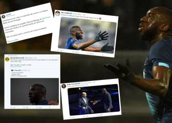 The world of football shows solidarity with Porto's Marega