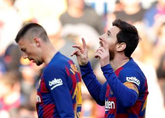 Messi madness at Camp Nou as he puts four past Eibar