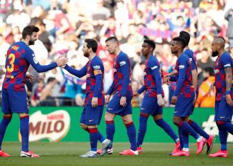 Messi four-haul ends Barça star's Liga drought in style