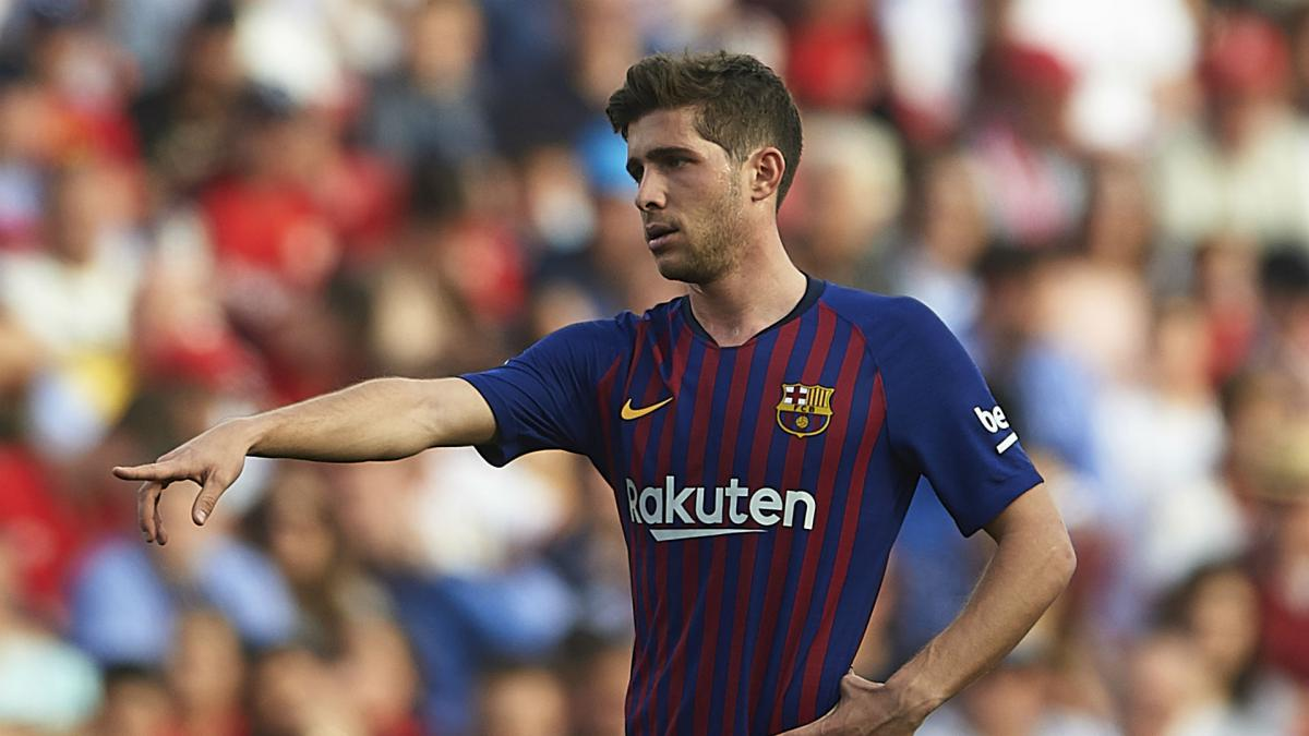 Injured Roberto out of Barcelona's Napoli and Madrid assignments