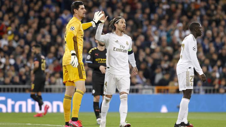 Sergio Ramos' red card rules him out of Man City second leg