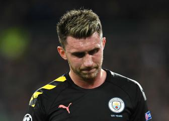 Man City's Laporte will miss up to four weeks, out for Real Madrid visit to Etihad