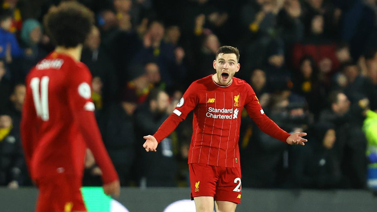 Robertson 'can only apologise' for Liverpool display in Watford thrashing