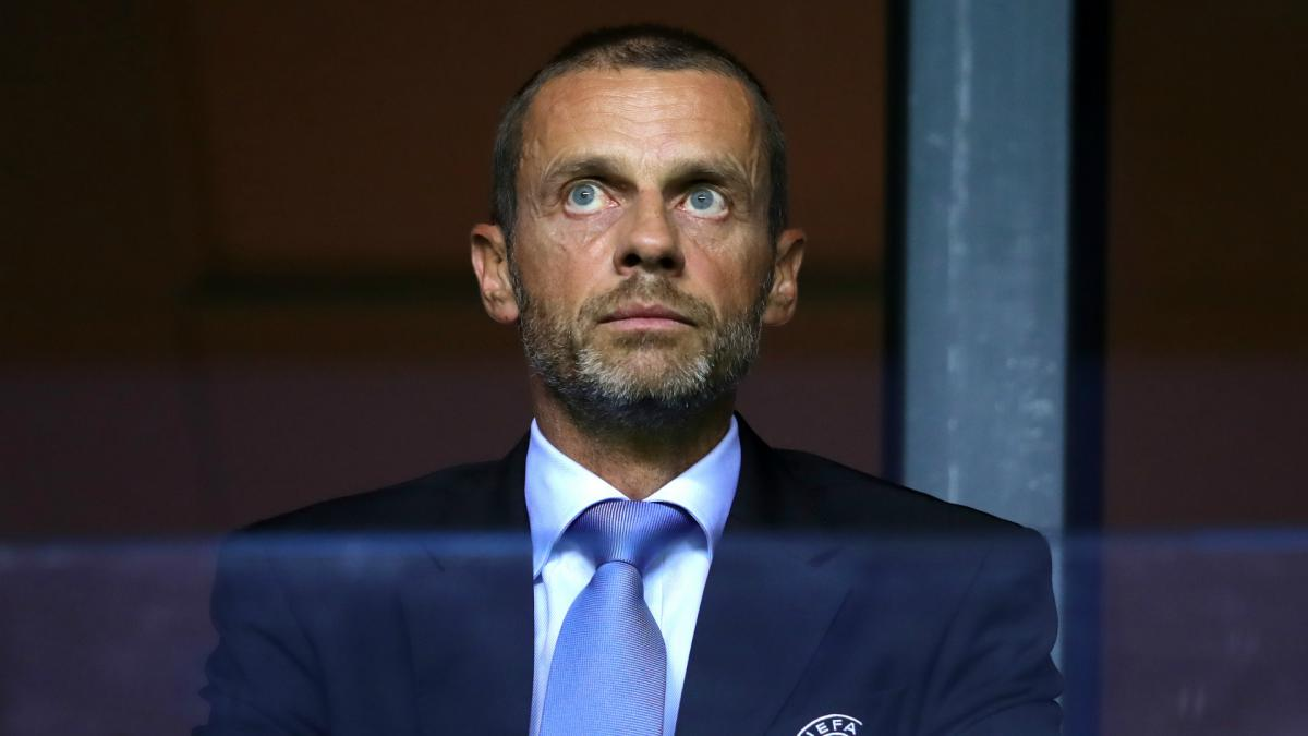 UEFA chief Ceferin admits 'it's time to change' and hints at racism reforms