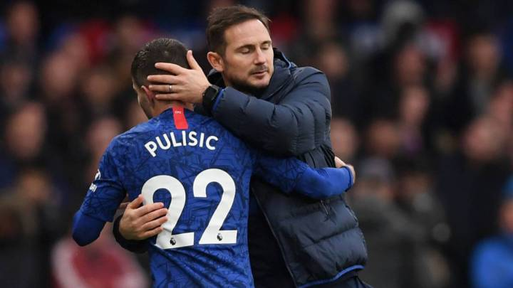 Lampard has confirmed Pulisic's return to practice with Chelsea