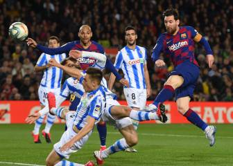 Messi drags Barça to a precious victory over La Real