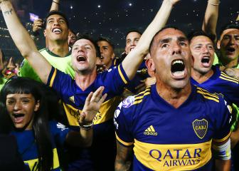 Tévez goal sees Boca Juniors win title as River Plate draw
