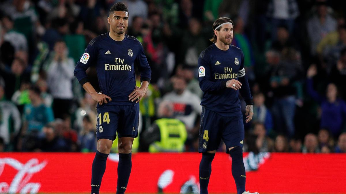 Casemiro: Betis defeat may cost Real Madrid league title