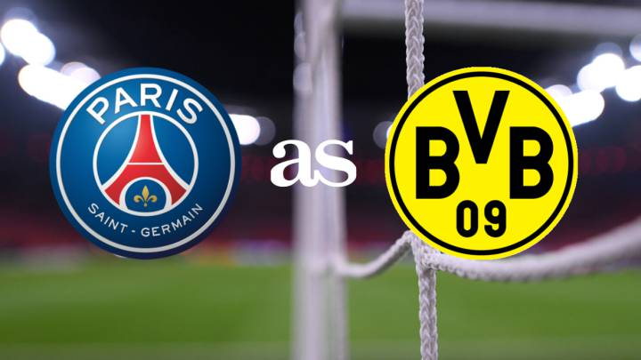 PSG vs Borussia Dortmund: how and where to watch - times, TV...