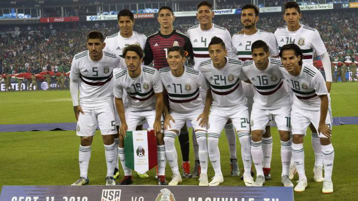 Mexican national team friendlies in United States are called off