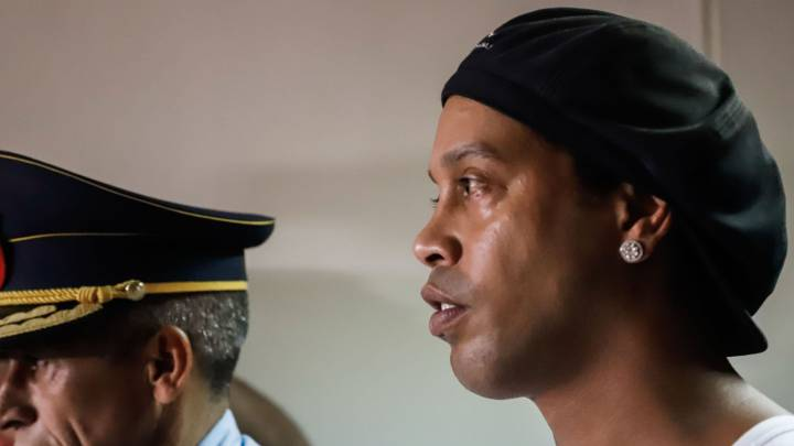 Ronaldinho face on balls found at accused passport forger's home