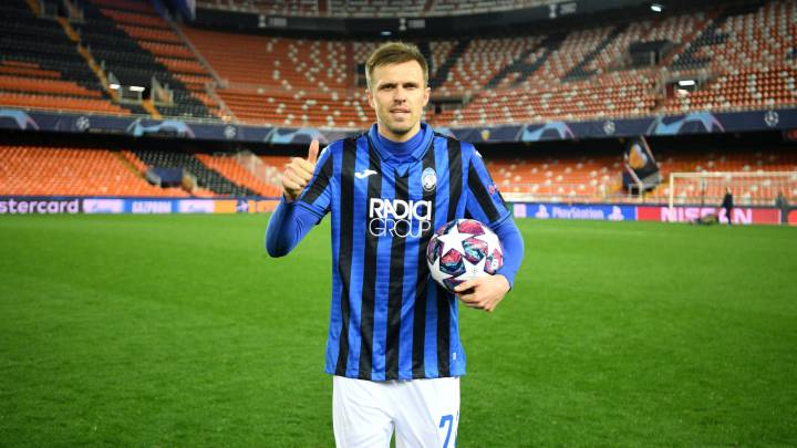 Atalanta's Illicic donates UCL match-ball to Bergamo hospital