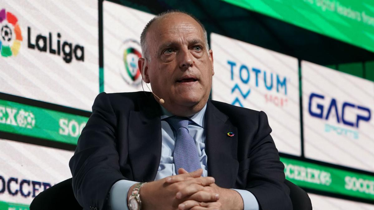 Coronavirus: Tebas committed to completing Spain's LaLiga season