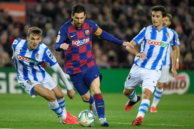 Targeting seven | Barcelona's Argentine forward Lionel Messi.