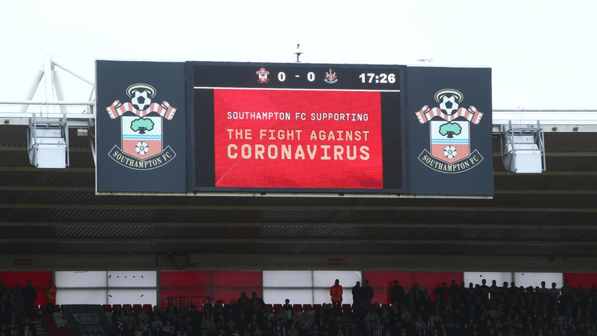 Coronavirus: Southampton chief calls for return of Premier League action