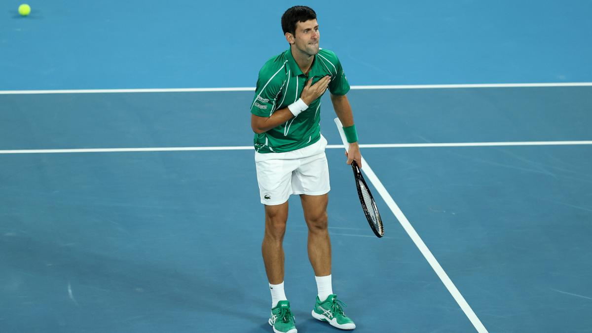 Coronavirus: Djokovic issues plea to 'help our Mother Earth'