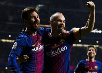 Iniesta the closest to Messi – Luis Enrique