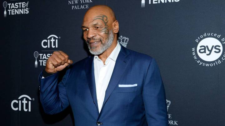 Mike Tyson reminds us of the original 'Tiger King'