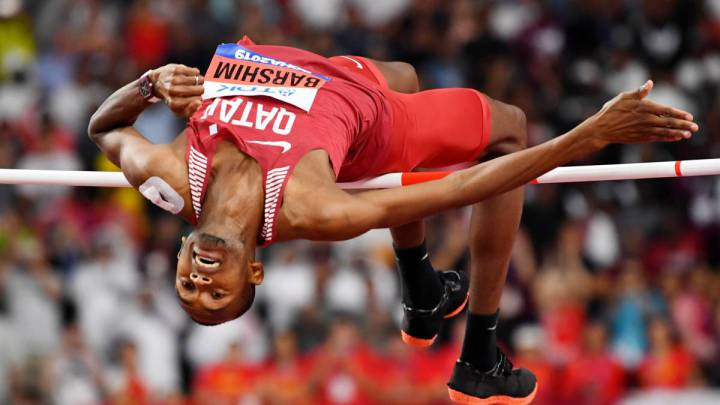Mutaz Essa Barshim under coronavirus lockdown: training at home, drawing and great food