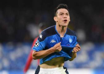 Napoli bosses praise Hirving Lozano despite lack of game time