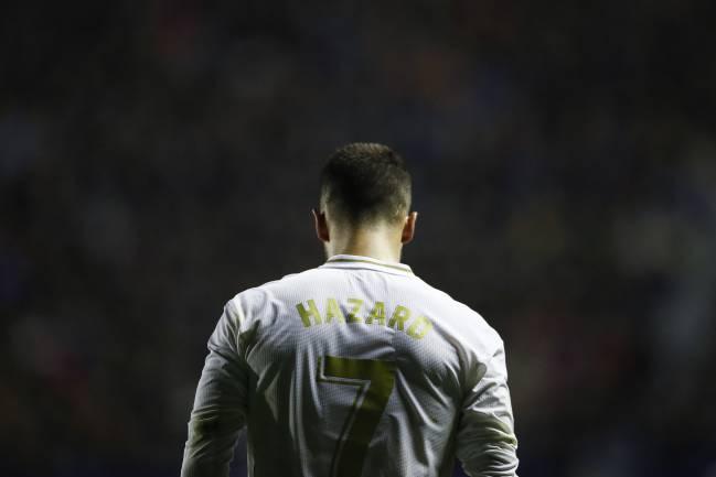 Eden Hazard du Real Madrid a connu un mois positif - Championnat d'Europe 2020