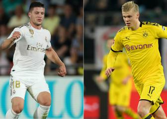 Real Madrid to explore Haaland-Jovic swap