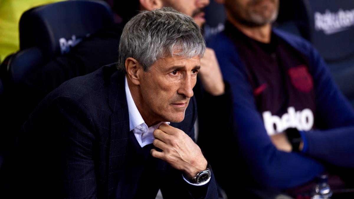 Coronavirus: Barcelona boss Setien says LaLiga restart plans are 'unworkable'