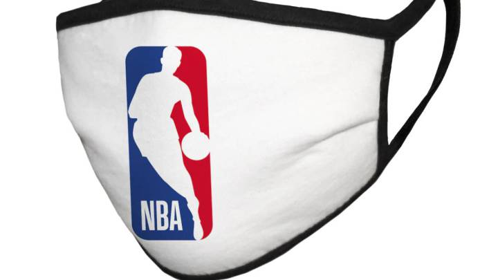 NBA sell team face masks to raise money for hunger relief