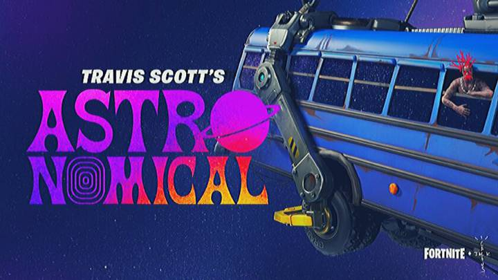 Fortnite x Travis Scott event: how and where to watch the Astronomical concert