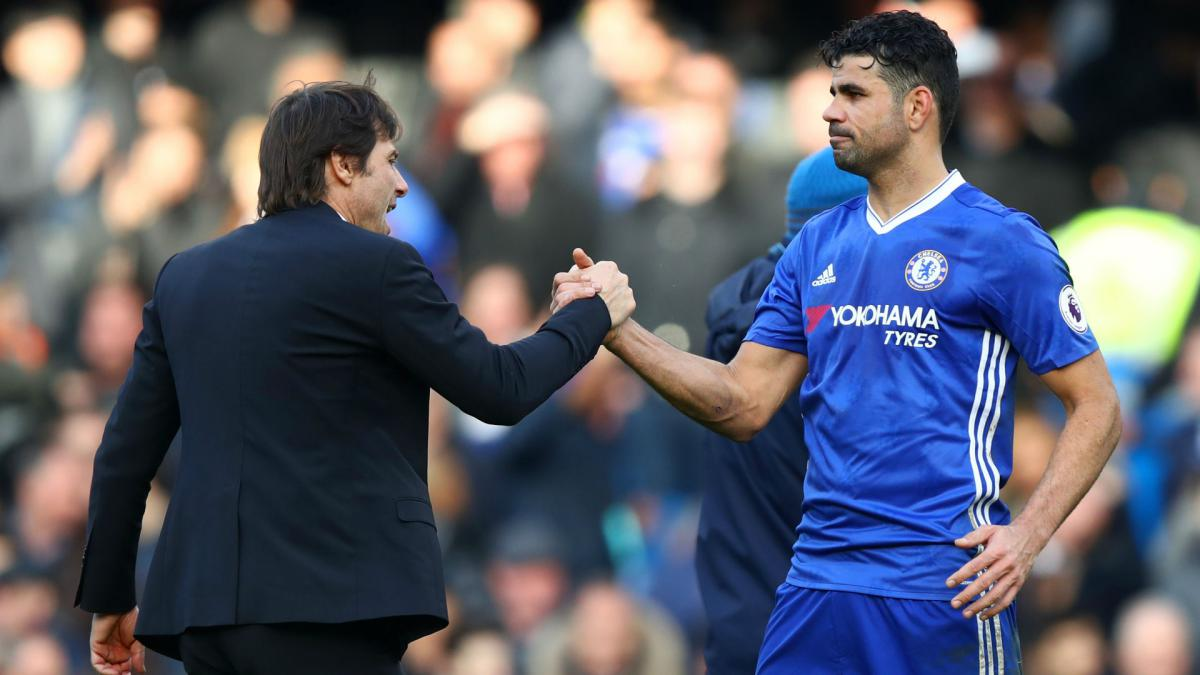 Conte wouldn't last as Real Madrid boss – Diego Costa