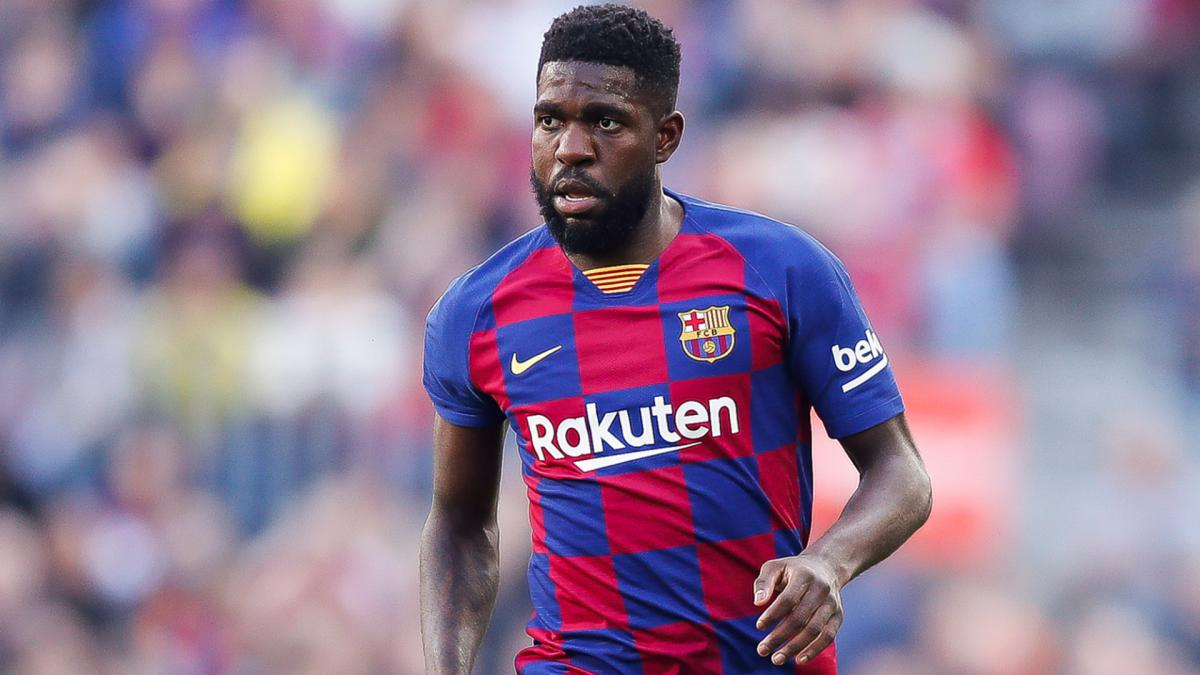 Umtiti injured in second session of Barcelona training return