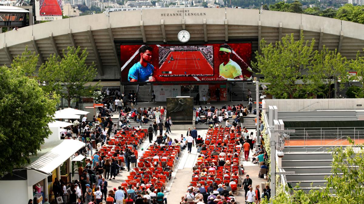 Coronavirus: French Open could be staged without fans and pushed back again