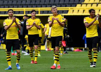 Haaland on target as Dortmund rout Schalke to close gap