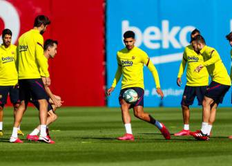 Spanish clubs return to training in groups of 10 in